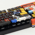 Functioning Lego keyboard uses a house as home key and just look at caps lock