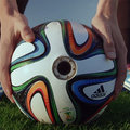 Adidas looks at the World Cup from a different perspective, Brazuca ball kitted with internal cameras