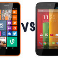 Nokia Lumia 630 vs Motorola Moto G: What's the difference?