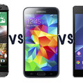 HTC One (M8) vs Samsung Galaxy S5 vs Sony Xperia Z2: Which is the best?