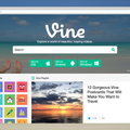 Vine overhauls website with robust search and more, just five months after launch