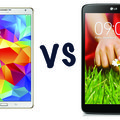 Samsung Galaxy Tab S (8.4) vs LG G Pad 8.3: What's the difference?