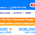 Website of the day: Car Hire Excess