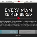Website of the day: Every Man Remembered