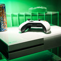 Sunset Overdrive white Xbox One and Call of Duty: Advanced Warfare limited edition Xbox One in the flesh