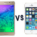 Samsung Galaxy Alpha vs Apple iPhone 5S: What's the difference?