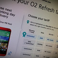 O2 Refresh offers next day delivery on handsets ordered before 10pm