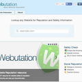 Website of the day: Webutation