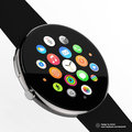 The Apple Watch looks far better with a round face, it suits the UI