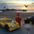 Are these the best Lego real-world photos yet? Lego Ferraris take to the streets of the UK