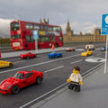 Are these the best Lego real-world photos yet? Lego Ferraris take to the streets of London