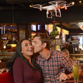 Crazy Christmas PR stunt #221: Mistletoe drone for kiss-happy TGI Fridays customers