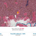 Find out how covered you are for broadband, 3G + 4G mobile, Wi-Fi and TV reception on this map