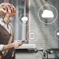Volvo wants to connect cyclists and cars together through helmet tech to prevent accidents