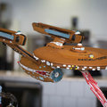 Gingerbread, the final frontier: This starship Enterprise model has us drooling