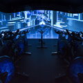 David Lloyd's Immersive Fitness studio is like a spin class through Tron