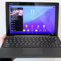 Sony Xperia Z4 Tablet accessories hands-on: Slim protection, smart speaker and laptop conversion