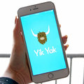 What is Yik Yak? It's like a bathroom stall wall, and teens are cray cray for it