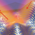 Invisibility cloak created to hide micro objects, could make larger objects invisible