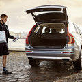 Volvo gets Christmas shopping delivered to your car