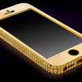 Of course you can buy a 24k gold iPhone SE studded with Swarovski crystals