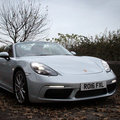 Porsche 718 Boxster S review: Four-cylinder foibles