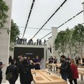 An amazing look inside the new Apple Regent Street store: Trees, marble and staff galore