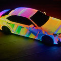 Lexus has turned a car into a giant LED lightshow
