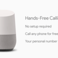 Google Home can now make hands-free phone calls like Amazon Echo