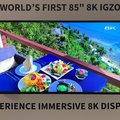 Sharp debuts its Aquos 8K TV, bringing a new meaning to Ultra High-Definition