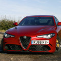 Alfa Romeo Giulia Quadrifoglio review: Phwoar to the floor