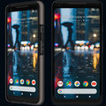 Google Pixel 2 XL pictured with a case and without a case in new leak