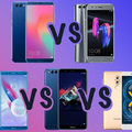 Honor smartphones compared: Honor 10 vs Honor 9 vs Honor 7 vs Honor 6