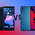 HTC U12+ vs Huawei P20 Pro: What's the difference?