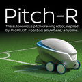 Jumpers for goalposts no more; Nissan Pitch-R is a self-driving pitch-drawing robot