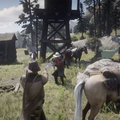 Red Dead Redemption 2 actual gameplay leaks, now including first person view
