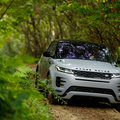 New Range Rover Evoque debuts ClearSight rear mirror and invisible bonnet technology