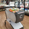 This smart shopping cart eliminates the need for cashiers in stores