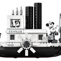 Lego lanceert in 2019 Mickey Mouse Steamboat Willie and Friends-sets