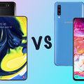 Samsung Galaxy A80 vs Galaxy A70: What's the difference?