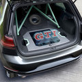 VW Golf GTI Aurora swaps boot space for sci-fi holographic sound system, would you?