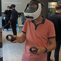 Up close with the latest HTC Vive Focus Plus and Pro Eye demos