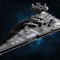 UCS Lego Star Wars Imperial Star Destroyer is mammoth and very, very grey
