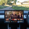 Tesla Model 3 actually makes for a great Netflix experience