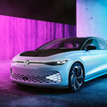 VW's ID. Space Vizzion shown in all its glory - the estate car of the future