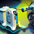VW mobile robot can charge your electric car in any parking space, see how it works here