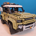 We built the Lego Technic Land Rover Defender, here's what the process was like