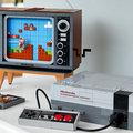 Oficial do Lego Nintendo Entertainment System, construa seu próprio NES com a TV CRT