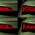 You can customise your digital OLED tail lights on the new Audi Q5