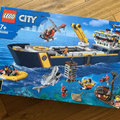 Vi bygger Lego City Ocean Exploration ship!